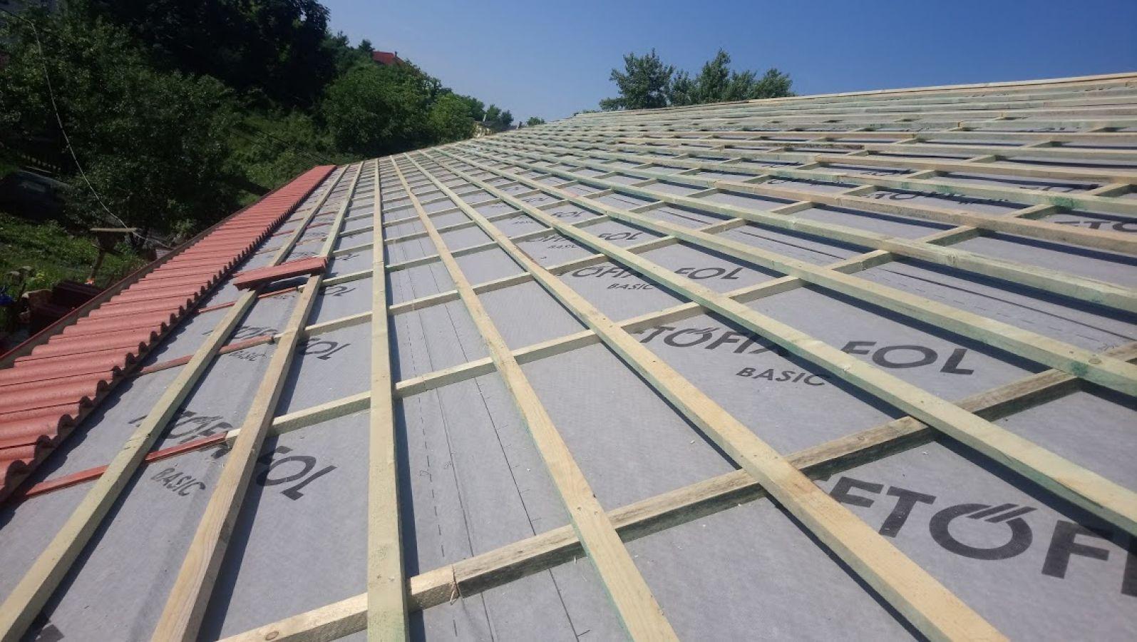 Tetőátfedések, tetők felújítása